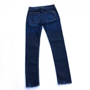 rag & bone Jeans - Rag & Bone Denny High Rise Skinny Blue Jeans :034
